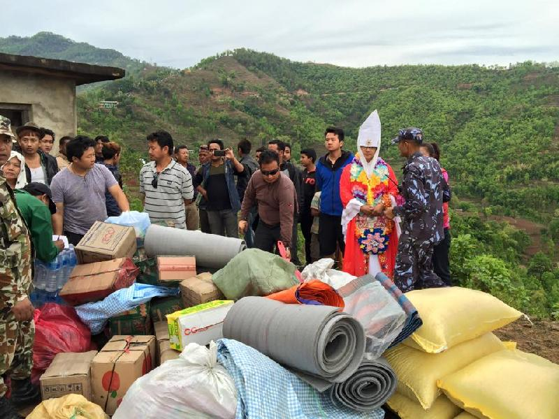 Nepal Earthquake - HHMG Visit To Gorkha
